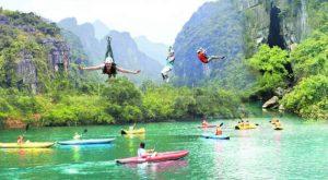 Tour Huế đi suối Mọoc Quảng-Bình 1 ngày giá rẻ