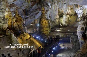 Tour du-lịch-trọn-gói Huế tham quan động-Thiên-Đường 1 ngày giá rẻ