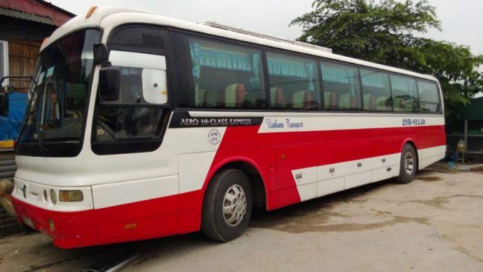 Vé xe Huế đi Salavan-Lào