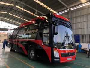 Xe Limousine Toàn-Đạt-Thành từ Hà Nội đi Huế